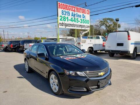 2016 Chevrolet Impala for sale at RODRIGUEZ MOTORS CO. in Houston TX