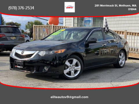2009 Acura TSX for sale at ELITE AUTO SALES, INC in Methuen MA