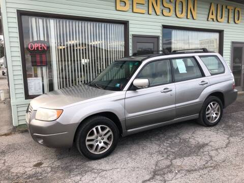 2006 Subaru Forester for sale at Superior Auto Sales in Duncansville PA