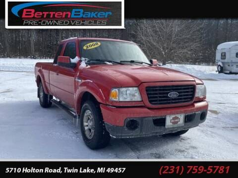 2008 Ford Ranger for sale at Betten Baker Preowned Center in Twin Lake MI