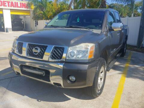 2007 Nissan Titan for sale at Autos by Tom in Largo FL
