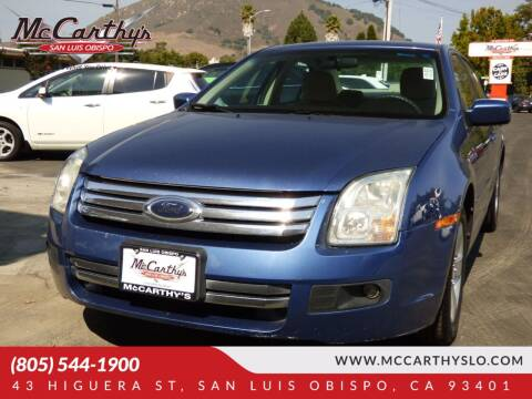 2009 Ford Fusion for sale at McCarthy Wholesale in San Luis Obispo CA