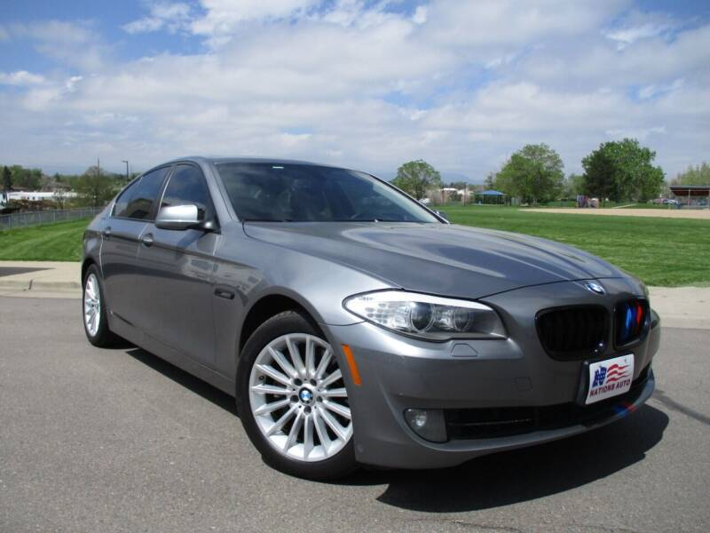 2013 BMW 5 Series for sale at Nations Auto in Lakewood CO