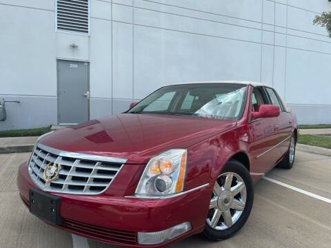2007 Cadillac DTS for sale at TWIN CITY MOTORS in Houston TX