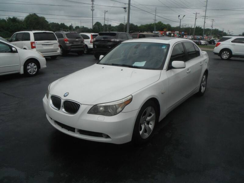 2007 BMW 5 Series for sale at Morelock Motors INC in Maryville TN