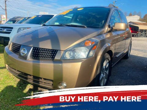 2004 Nissan Quest for sale at WINNERS CIRCLE AUTO EXCHANGE in Ashland KY