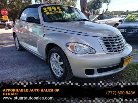 2007 Chrysler PT Cruiser for sale at AFFORDABLE AUTO SALES OF STUART in Stuart FL