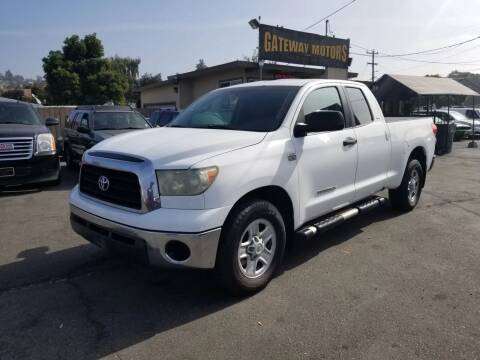 2007 Toyota Tundra for sale at Gateway Motors in Hayward CA