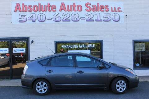 2007 Toyota Prius for sale at Absolute Auto Sales in Fredericksburg VA