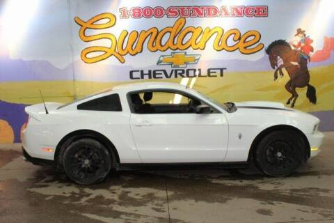 2012 Ford Mustang for sale at Sundance Chevrolet in Grand Ledge MI