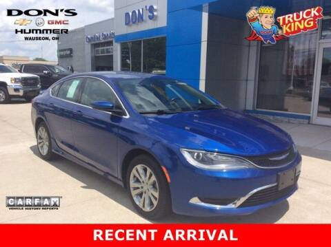 2016 Chrysler 200 for sale at DON'S CHEVY, BUICK-GMC & CADILLAC in Wauseon OH