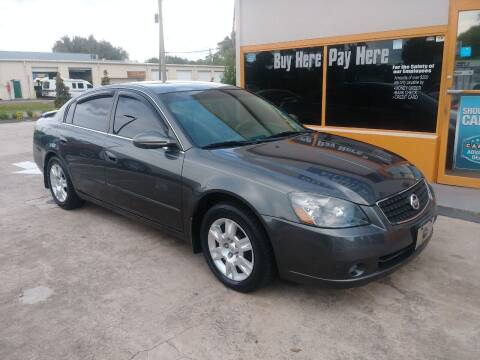 2006 Nissan Altima for sale at QUALITY AUTO SALES OF FLORIDA in New Port Richey FL