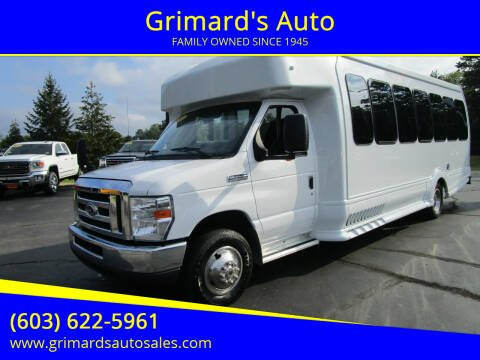 2016 Ford E-Series Chassis for sale at Grimard's Auto in Hooksett NH