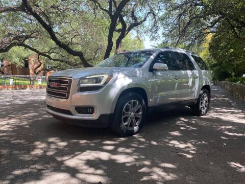 2014 GMC Acadia for sale at Motorcars Group Management - Bud Johnson Motor Co in San Antonio TX