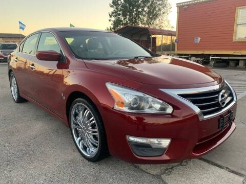 2013 Nissan Altima for sale at JAVY AUTO SALES in Houston TX