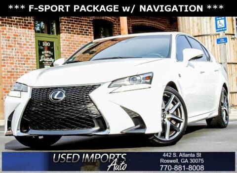 2016 Lexus GS 350 for sale at Used Imports Auto in Roswell GA