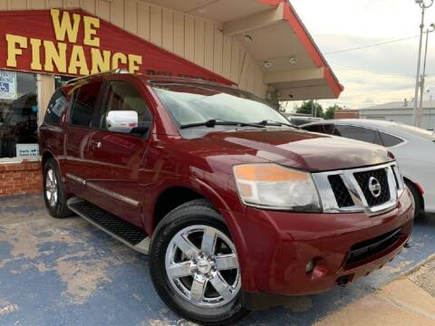 2012 Nissan Armada for sale at Caspian Auto Sales in Oklahoma City OK