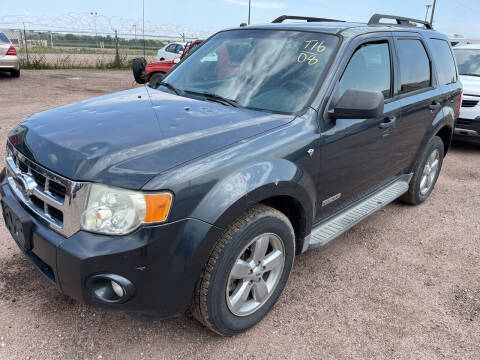 2008 Ford Escape for sale at PYRAMID MOTORS - Fountain Lot in Fountain CO