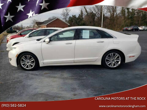 2013 Lincoln MKZ for sale at Carolina Motors at the Rock in Rockingham NC