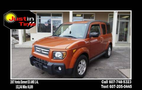 2007 Honda Element for sale at Just In Time Auto in Endicott NY