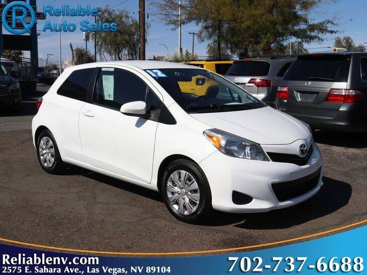 2012 Toyota Yaris for sale at Reliable Auto Sales in Las Vegas NV