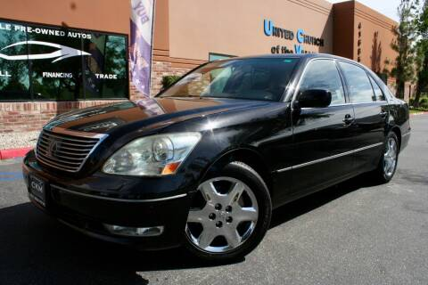 2004 Lexus LS 430 for sale at CK Motors in Murrieta CA