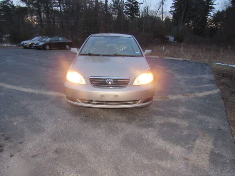 2008 Toyota Corolla for sale at Heritage Truck and Auto Inc. in Londonderry NH