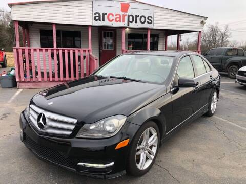 2012 Mercedes-Benz C-Class for sale at Arkansas Car Pros in Cabot AR