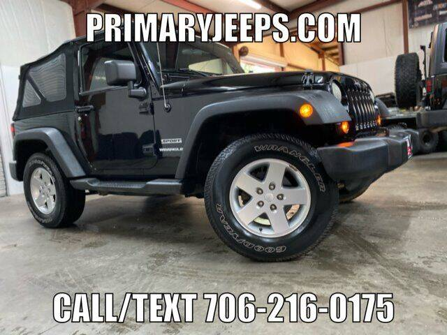 2011 Jeep Wrangler for sale at Primary Auto Group in Dawsonville GA