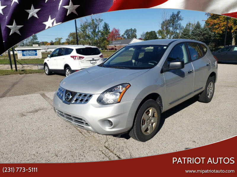 2015 Nissan Rogue Select for sale at Patriot Autos in Muskegon MI
