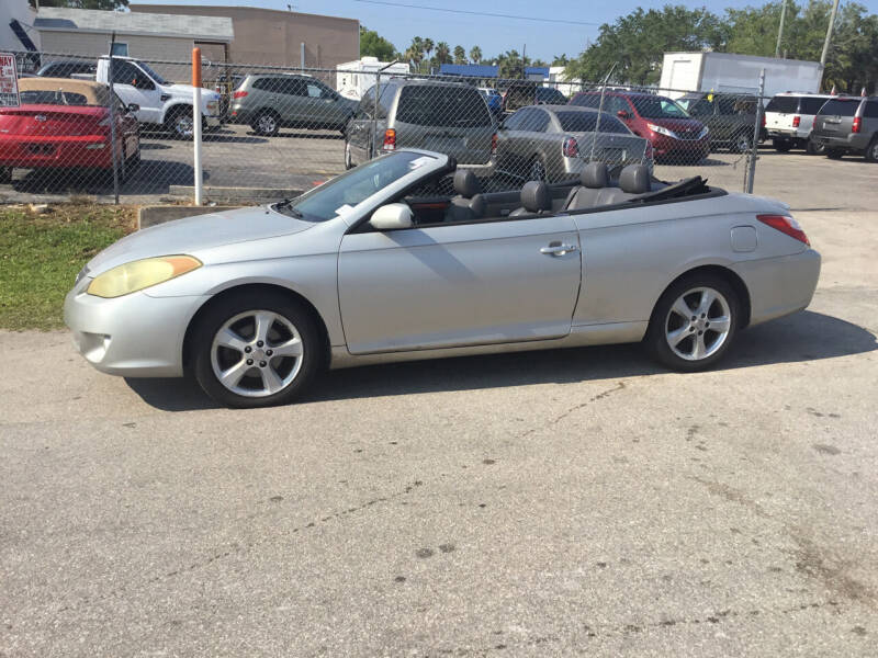 2006 Toyota Camry Solara for sale at Second 2 None Auto Center in Naples FL