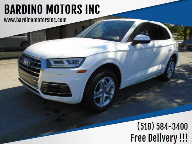 2018 Audi Q5 for sale at BARDINO MOTORS INC in Saratoga Springs NY