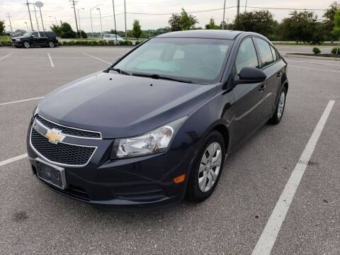 2014 Chevrolet Cruze for sale at Auto Hub in Grandview MO