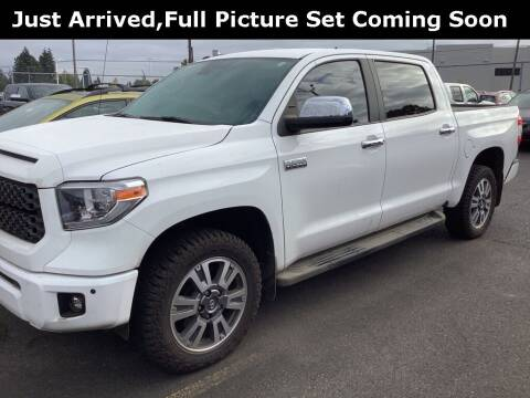 2018 Toyota Tundra for sale at Royal Moore Custom Finance in Hillsboro OR