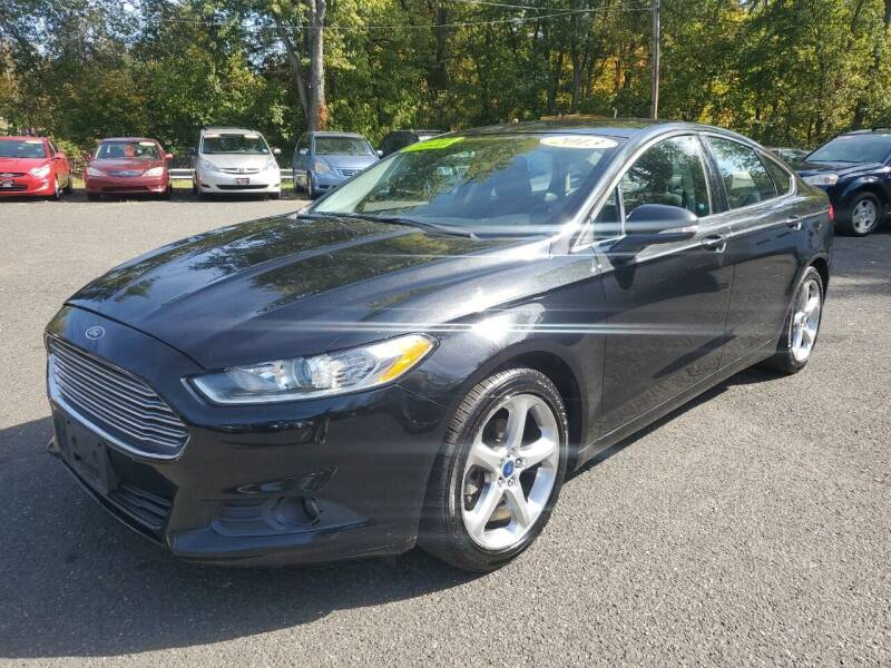 2013 Ford Fusion for sale at CENTRAL GROUP in Raritan NJ