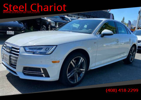 2018 Audi A4 for sale at Steel Chariot in San Jose CA