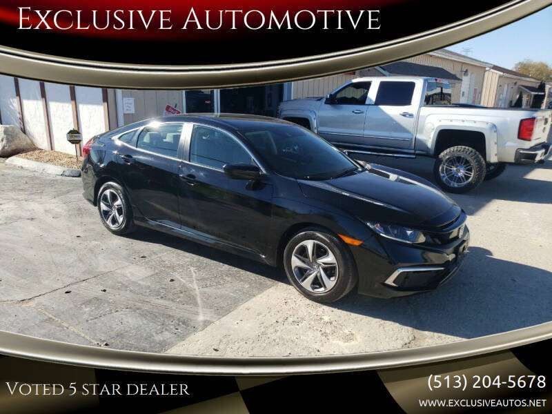 2019 Honda Civic for sale at Exclusive Automotive in West Chester OH