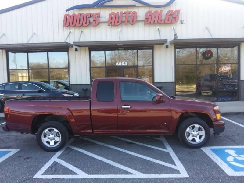 2009 Chevrolet Colorado for sale at DOUG'S AUTO SALES INC in Pleasant View TN