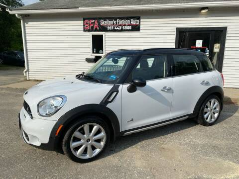 2015 MINI Countryman for sale at Skelton's Foreign Auto LLC in West Bath ME