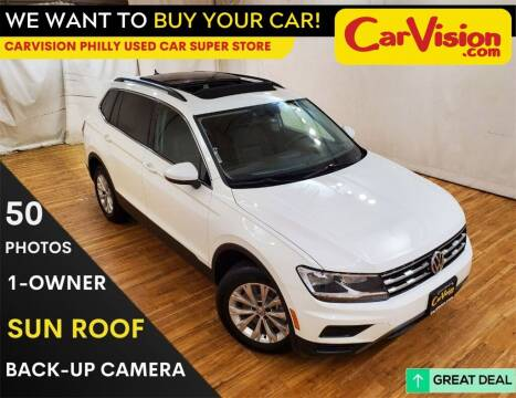 2019 Volkswagen Tiguan for sale at Car Vision Mitsubishi Norristown - Car Vision Philly Used Car SuperStore in Philadelphia PA