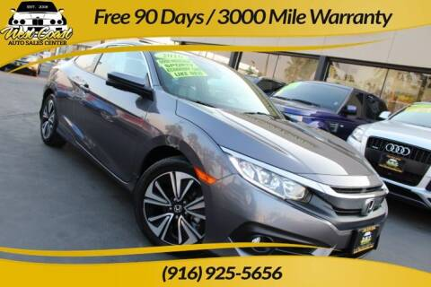 2016 Honda Civic for sale at West Coast Auto Sales Center in Sacramento CA