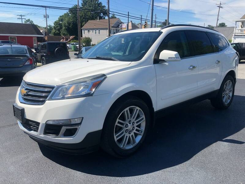 2014 Chevrolet Traverse for sale at JB Auto Sales in Schenectady NY