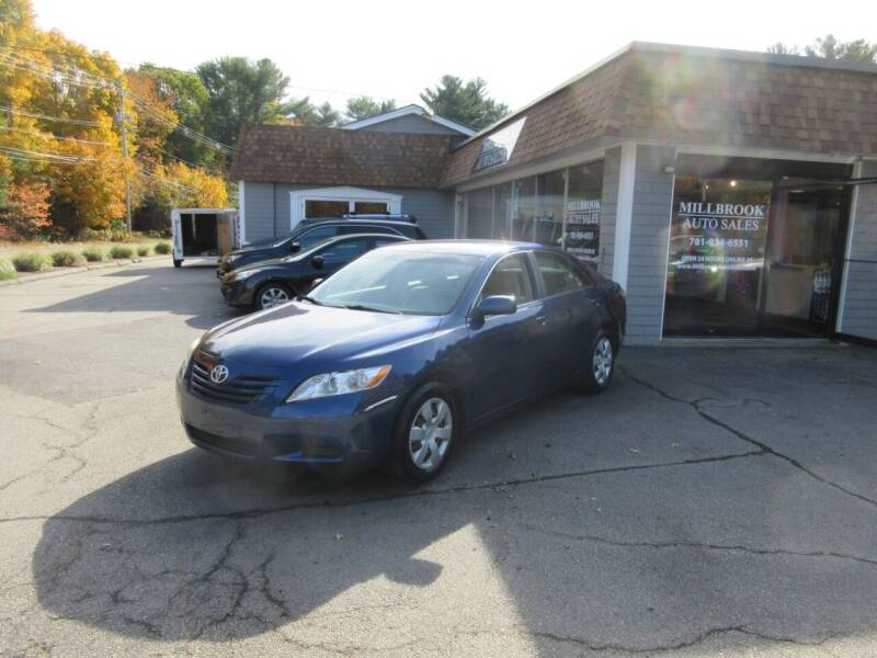 2009 Toyota Camry for sale at Millbrook Auto Sales in Duxbury MA
