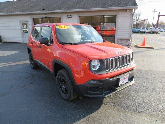 2018 Jeep Renegade for sale at Tri-County Pre-Owned Superstore in Reynoldsburg OH