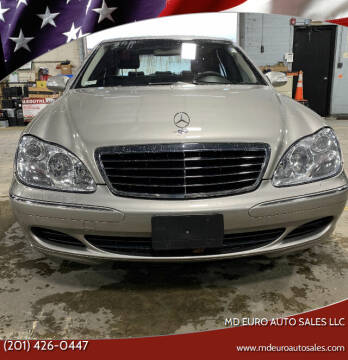 2004 Mercedes-Benz S-Class for sale at MD Euro Auto Sales LLC in Hasbrouck Heights NJ