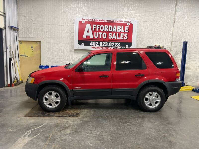 2002 Ford Escape for sale at Affordable Auto Sales in Humphrey NE