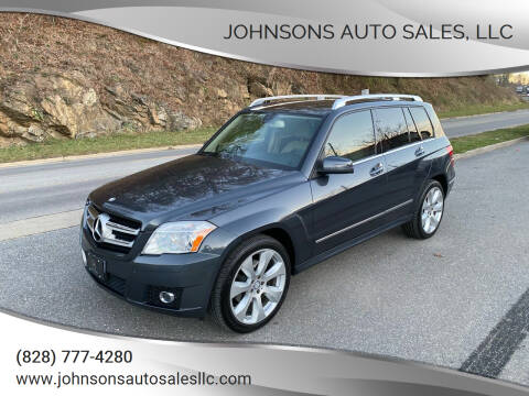 2011 Mercedes-Benz GLK for sale at Johnsons Auto Sales, LLC in Marshall NC