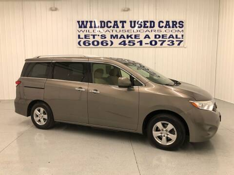 2014 Nissan Quest for sale at Wildcat Used Cars in Somerset KY