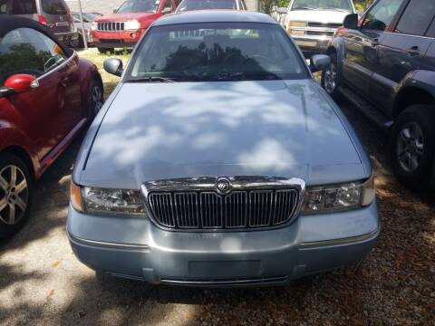 2002 Mercury Grand Marquis for sale at Webb's Automotive Inc 11 in Morehead City NC