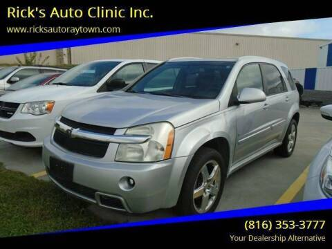 2009 Chevrolet Equinox for sale at Rick's Auto Clinic Inc. in Raytown MO